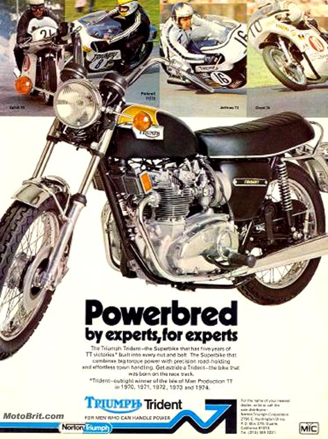 1975 Triumph Trident T-150