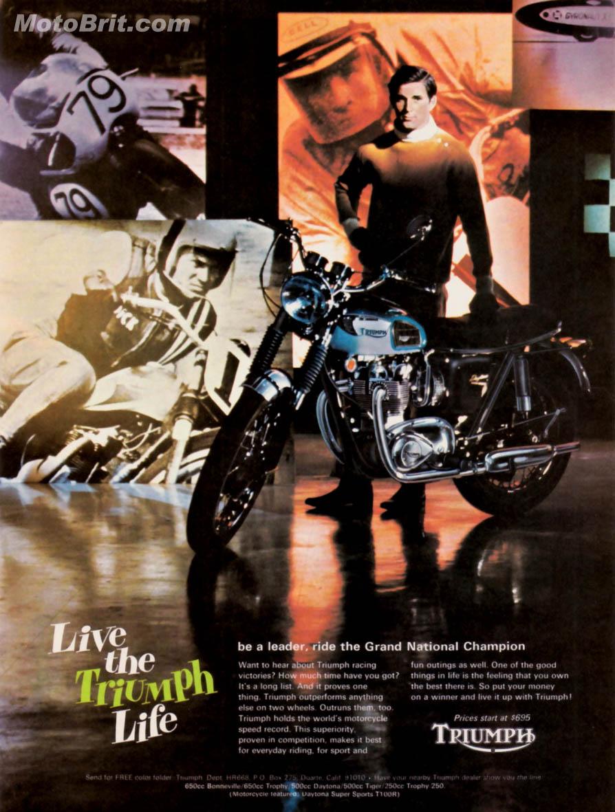 1968 Triumph Daytona 500cc