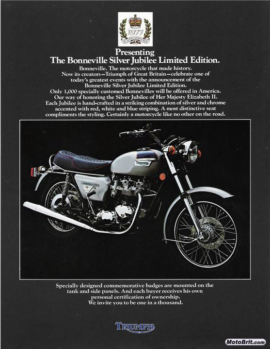 1977 Triumph Silver Jubilee