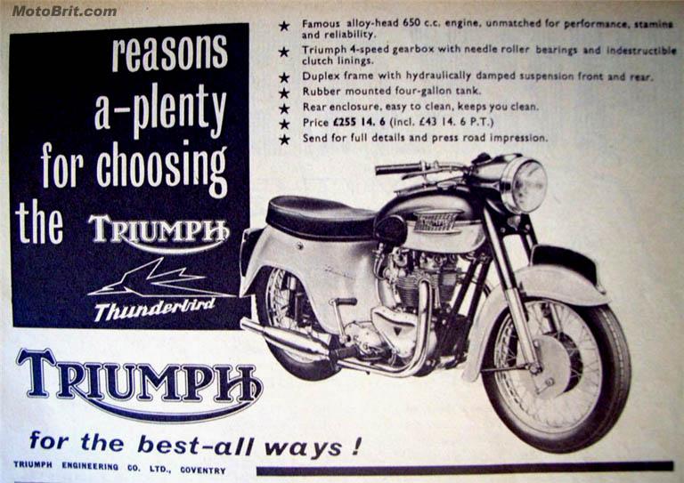 1960 Triumph 650 Duplex Bathtub