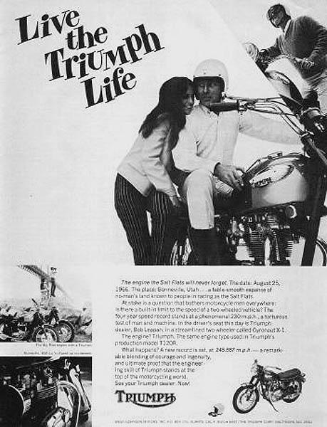1967 Triumph Life ad