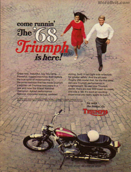 '68 Triumph is Here!