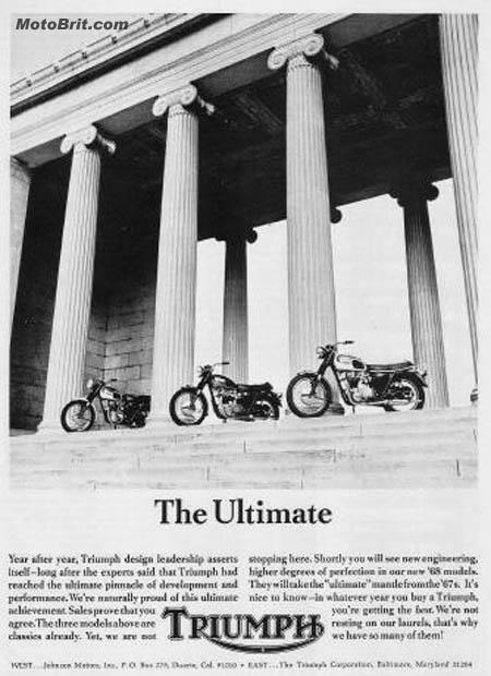 1968 Triumph's Ad