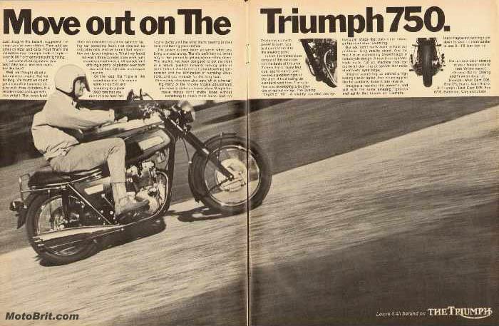 1969 Triumph Trident T150