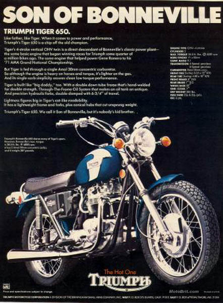 1972 Triumph Tiger