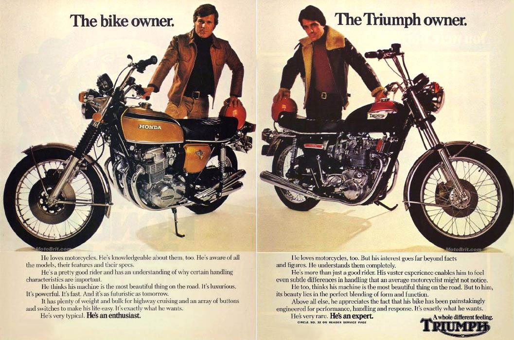 1973 Triumph Expert Rider Ad