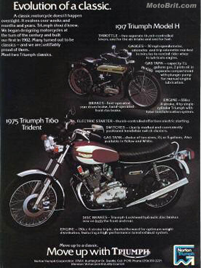 1975 Triumph Trident T160