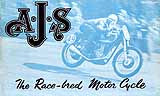 1949 AJS motorcycle