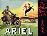 1935 Ariel motorcycle brochure