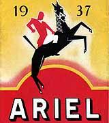 1937 Ariel motorcycle brochure