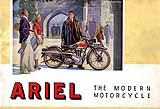 1938 Ariel motorcycle brochure