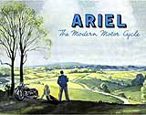 1947 Ariel motorcycle brochure
