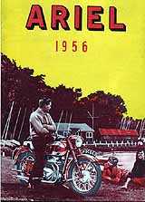 1956 Ariel motorcycle brochure