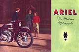 1956 Ariel motorcycle brochure B