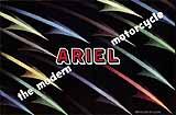 1957 Ariel motorcycle brochure