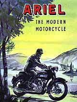 1959 Ariel motorcycle brochure