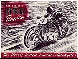 1948 Vincent HRD motorcycle brochure