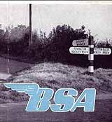 1945 BSA motorcycle brochure