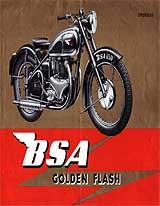 1950 BSA motorcycle brochure