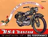 1952 BSA Bantam motorcycle brochure