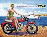 1960 BSA motorcycle brochure