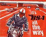 1966 BSA motorcycle brochure