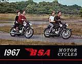 1967 BSA motorcycle brochure type 2