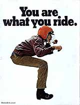 1970 BSA motorcycle brochure type 3