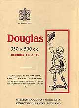 1934 Douglas Y,Y1 motorcycle brochure