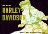 1948 Harley-Davidson motorcycle brochure