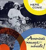 1959 Harley-Davidson motorcycle brochure