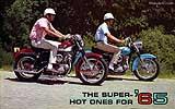 1965 Harley-Davidson Sportser motorcycle brochure