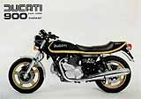 Ducati 900 SD motorcycle brochure