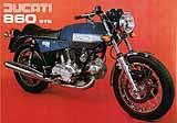 Ducati 860 GTS motorcycle brochure