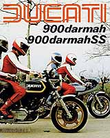 Ducati 900 Darmah & 900 Darmah SS motorcycle brochure