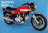 Ducati 900 GTS motorcycle brochure