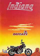 Ducati Indiana motorcycle brochure