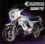 1981 Laverda 1200 TS motorcycle brochure