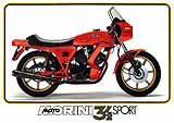1981 Moto Morini 3-1/2 Sport motorcycle brochure
