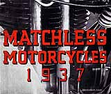 1937 Matchless motorcycle brochure