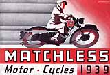 1939 Matchless motorcycle brochure