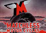 1945 Matchless motorcycle brochure