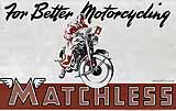 1948 Matchless motorcycle brochure