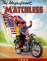 1960 Matchless motorcycle brochure
