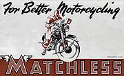 Vintage Matchless Motorcycle brochures