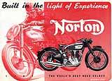 1947 Norton motorcycle brochure