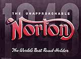 1948 Norton motorcycle brochure