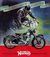 1950 Norton motorcycle brochure