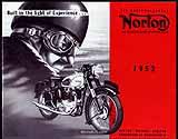 1952 Norton motorcycle brochure
