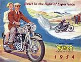 1954 Norton motorcycle brochure
